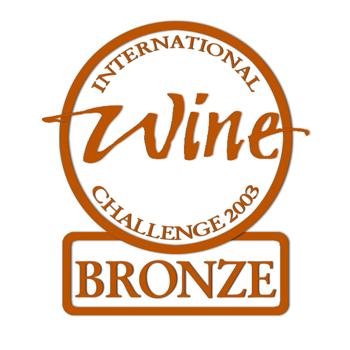 international wine challenge Bronzemedaille 2003