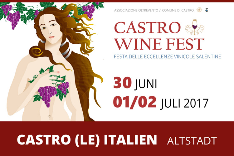 Castro Weinfest - Festival of Salento Excellence Wein