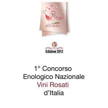 Concour National des vins rosé d'Italie edition 2012