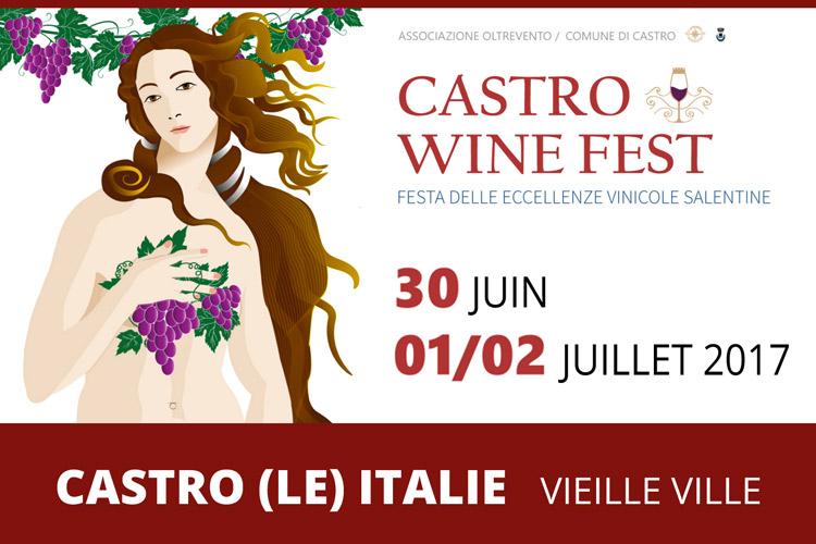 Castro Wine Fest - Festival de l'excellence du vin Salentine