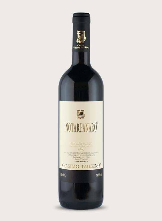 Notarpanaro (rouge) Negroamaro Salento IGP Cosimo Taurino