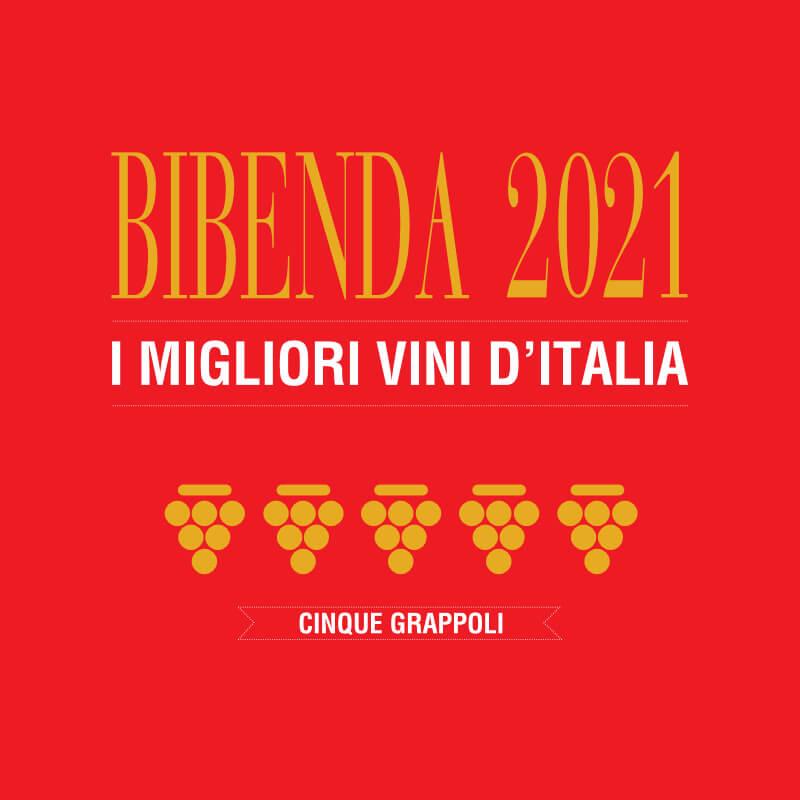 premio Bibenda 2021 Patriglione 2015