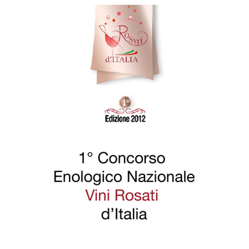 National wine competition rosé wines of Italy 2012 edition