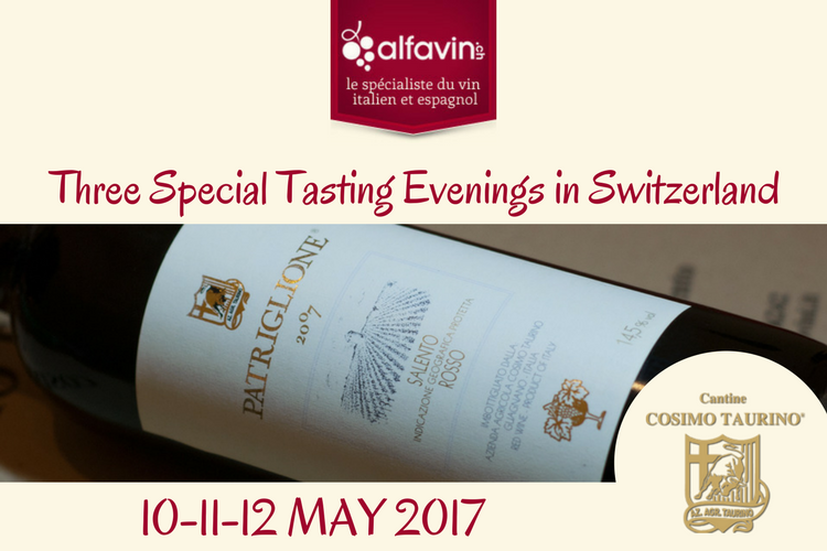 Three Special Tasting Evenings in Switzerland
